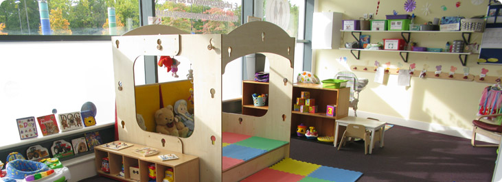 k2 nursery crawley playroom