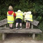 K2 preschool academy nature walk banner